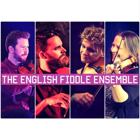 This is an image of the artists - The English Fiddle Ensemble