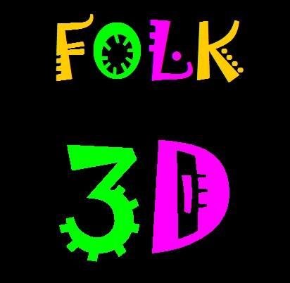 Folk 3D Arts organisation logo